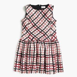 CREWCUTS X Kid Made Modern licorice-print Dress